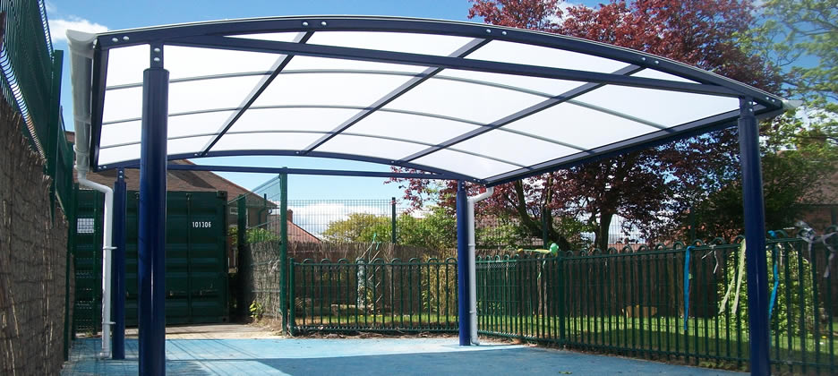 Canopies & Shelters Installed  Keighley