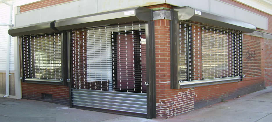 Retail Security Grills Keighley