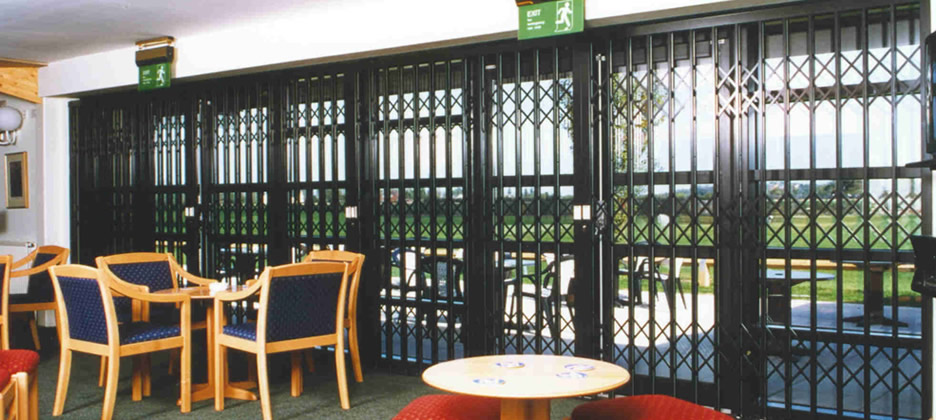 Commercial Security Grilles Keighley