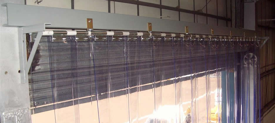 Pvc Strip Curtains Installed  Keighley